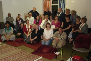 The Leicester sangha May 2014